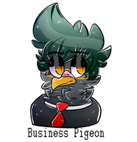 He Does Business by spazzyArtist1999