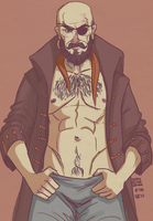 Captain Stingaree by deathbearbrown