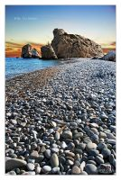 Sunset at Birthplace Aphrodite by SpanishSweet
