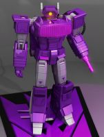 Shockwave Robot Mode by wizardofosmond