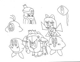 Kirby Characters 1 by Dancrew2010