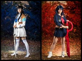 Red vs Blue - Kill La Kill by faramon