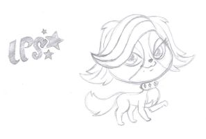 LPS - Zoe Trent -Toy Sketch- by rmsaun98722
