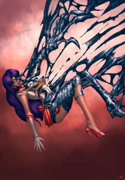 Sailor Mars Symbiote by cric
