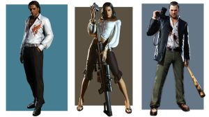 Dead Rising characters by vgwallpapers