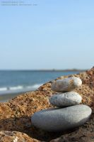 Stacking Stones by cheekytosspot