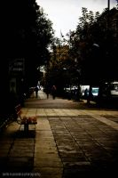 Autumn in Thessaloniki by Fortisinprocella
