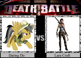 Daring Do vs. Lara Croft by JasonPictures