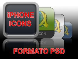 iphone icons template by femfoyou