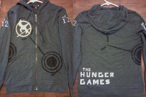 The Hunger Games Jacket Hooded Shirt by SikkPup