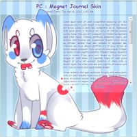 .: PC : Magnet Journal Skin :. by Yuminn