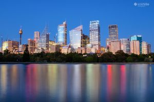 Sydney City New South Wales Australia by Furiousxr