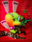 Chuck full of Love ::::::::: by Witchiko