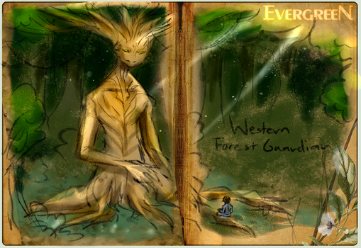 Bestiary - Western Forest Guardian by AngeltheMerman