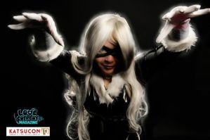 Black Cat (Love Cosplay Magazine!) by felidaepounce