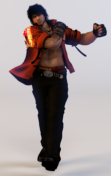 Miguel Caballero Rojo 3DS Render by x2gon