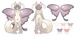 Mothling Design for Kalylia by MagicalZombie