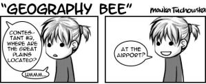Geography Bee by arseniic