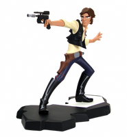 Star Wars Animated- Han Solo by DaveIgo
