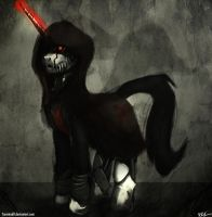 Nazara The Reaper - Pony Form by Tarantad0