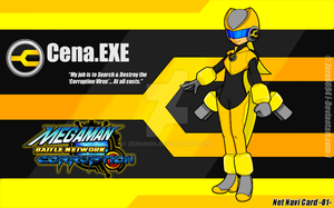 Net Navi Card -01- Cena.EXE by Zero6694