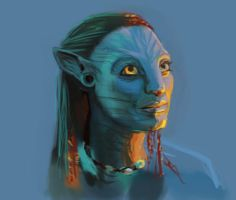 Neytiri, Avatar by radu-jm