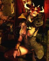 Demoness by vaia