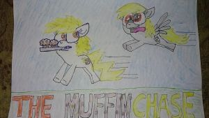 The Muffin Chase by MLPRainbowBrush