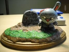 zombie groom dunny base 2 by anthonyDeVito