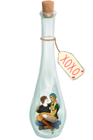 Ship in a Bottle by vampkimi