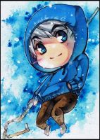 Chibi Jack Frost ACEO by XMenouX