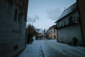Visby in the cold by Kattenshatt
