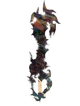 Chaos Rising keyblade (concept) by HaroldPotter