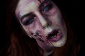 Halloween Zombie Makeup Tutorial now uploaded! by KatieCreates92