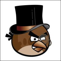 Steampunk Angry Birds by CatherinetteRings