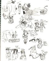 Bloody Roar Doodlies of DOOM by TeamAquaSuicune