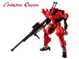Crimson Queen by ZephyrChaos