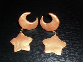 Eternal Sailor Moon. Earrings by LoveSenshi