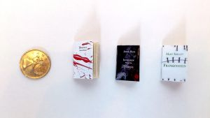 3 Mini Horror Themed books by ButterflyInDisguise