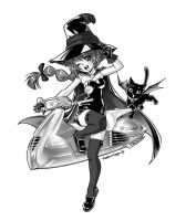 Witch + Commission + by Chiisa