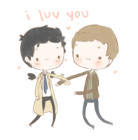 Destiel2 by mai-mind-freak