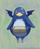 Disgaea Penguin by lingy