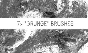 Grunge Brushes No.2 by PinkMai