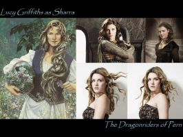 Lucy Griffiths as Sharra by SWFan1977