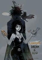 Sandman : Dream and Death by Mushstone
