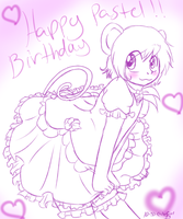 Happy Birthday Pastel-Hime! by AD-SD-ChibiGirl