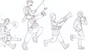 TF2 - Marching to Battle by tenshiketsueki1000