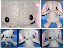 Wittle Bunny Plush by MelonieMac