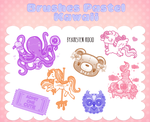 Brushes Pastel Kawaii by KristeNRoCiO