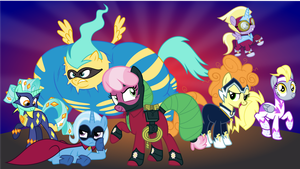 Lunaverse Power Ponies by punzil504